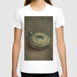 Golden pocket watch T-shirt