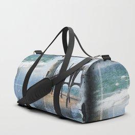 Manistee Lighthouse MI Duffle Bag