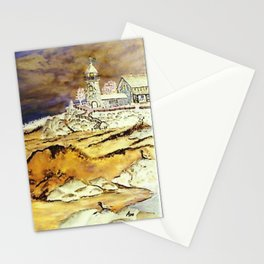 Brentons Lighthouse Ipod Cover by Ave Hurley Stationery Cards