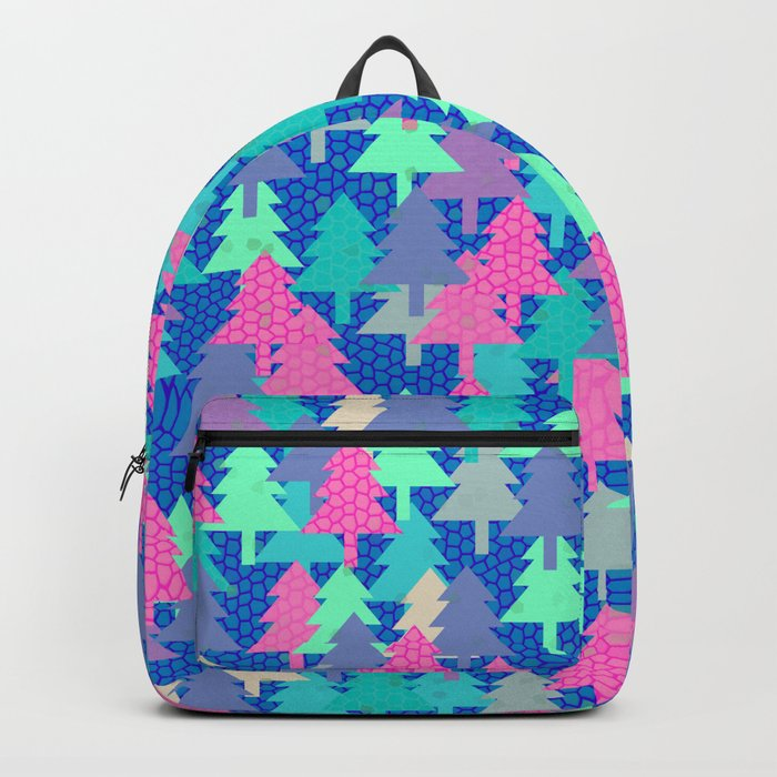 Colorful fir pattern II Backpack