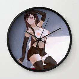 Tifa Lockhart Wall Clock
