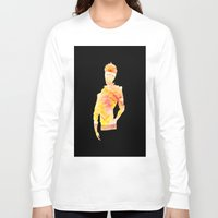 legend of korra Long Sleeve T-shirts featuring Legend of Korra - Mako Spirit by lalazaro