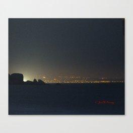 San Francisco Night Lights Canvas Print