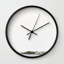 Welsh Coastline | Tenby, Pembrokeshire Wall Clock