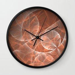 Dream Sequence abstract Fractal Art Wall Clock