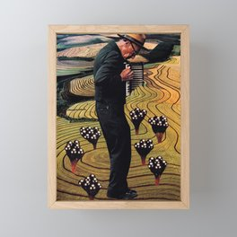 Accordion Framed Mini Art Print