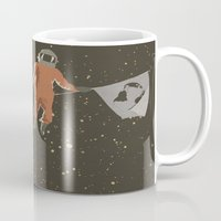 dreamer Mugs featuring Dreamer by Wolves In Space