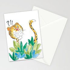 Spots, your tail is up! Stationery Cards
