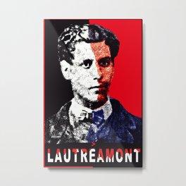 Comte de Lautreamont Metal Print