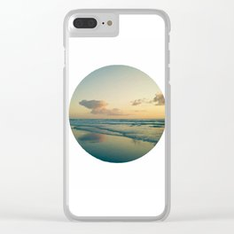 Landscape round Clear iPhone Case