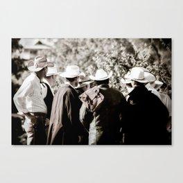 Cowboy Bunch Canvas Print