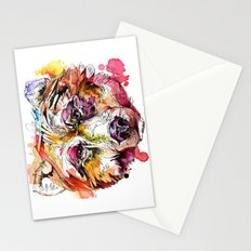 Vivid Grizzly Stationery Cards