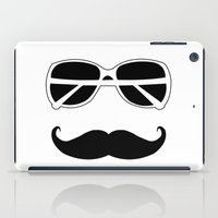 hipster iPad Cases featuring Hipster by PintoQuiff