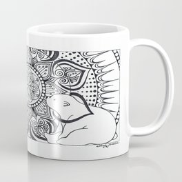 Polar Bear Mandala by Lady Lorelie Coffee Mug
