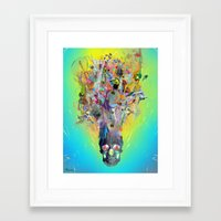 archan nair Framed Art Prints featuring Revival by Archan Nair