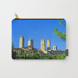 The Towers of San Gimignano Carry-All Pouch