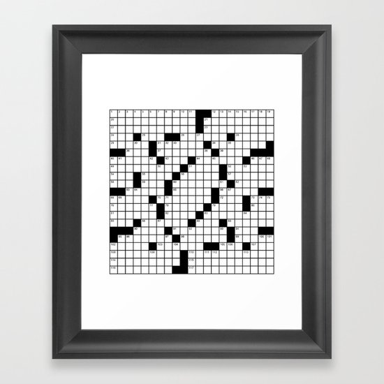 Crossword Puzzle - Write on it!  by raye6