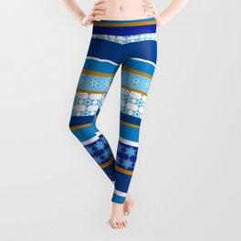 hanukkah wrap Leggings