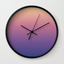 Chicago Afternoon Gradient Wall Clock