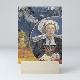 La Belle Angele by Paul Gauguin Mini Art Print