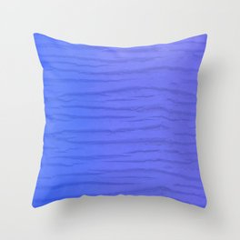 Exotic Wood In Blue Pattern Throw Pillow