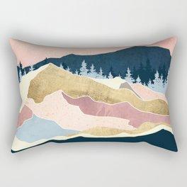 Coral Sunset Rectangular Pillow