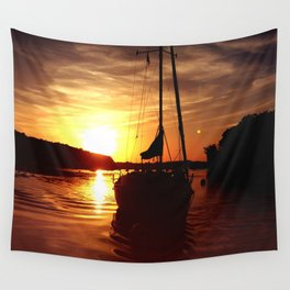 The Flying Wasp Wall Tapestry