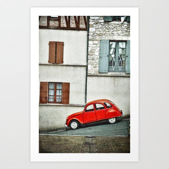 Vieux style Art Print
