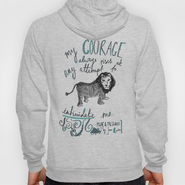 COURAGE: PRIDE AND PREJUDICE by JANE AUSTEN Hoody