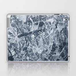 Abstract black painting Laptop & iPad Skin