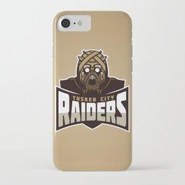 Tusken City Raiders - Tan iPhone Case