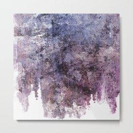 Calm Waterfall Metal Print