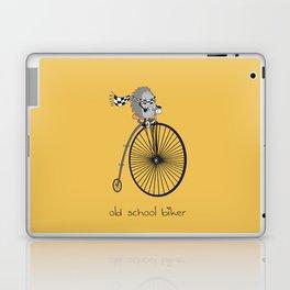 old school biker Laptop & iPad Skin
