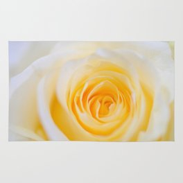 Delicate yellow-white roses Rug