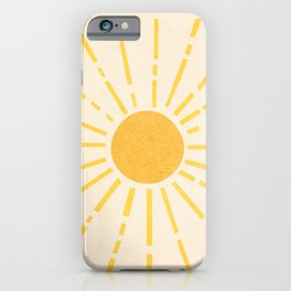 Sun iPhone Case