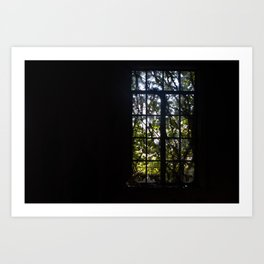 Early Morning Stained Glass Art Print