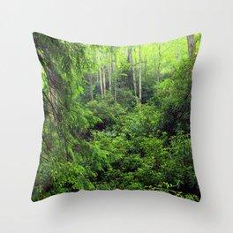 Forest 8 Throw Pillow