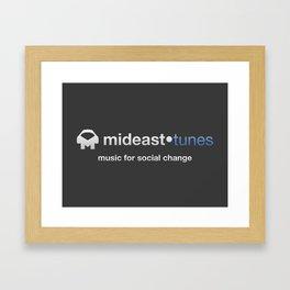 Mideast Tunes Framed Art Print