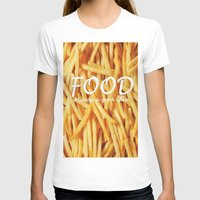 food T-shirts featuring Food by The Fifth Motion