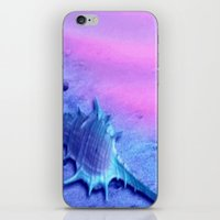 shell iPhone & iPod Skins featuring Shell by Elena Indolfi