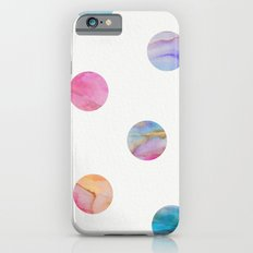 Marble Polka Dots Slim Case iPhone 6s