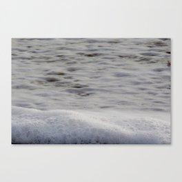 Sea Foam and Bubbles Canvas Print