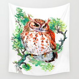 Your Best Friend Owl Wall Tapestry