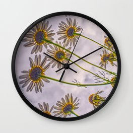 Marguerite flower Design Wall Clock