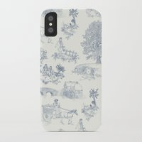 lotr iPhone & iPod Cases featuring Shire Toile by Jackie Sullivan