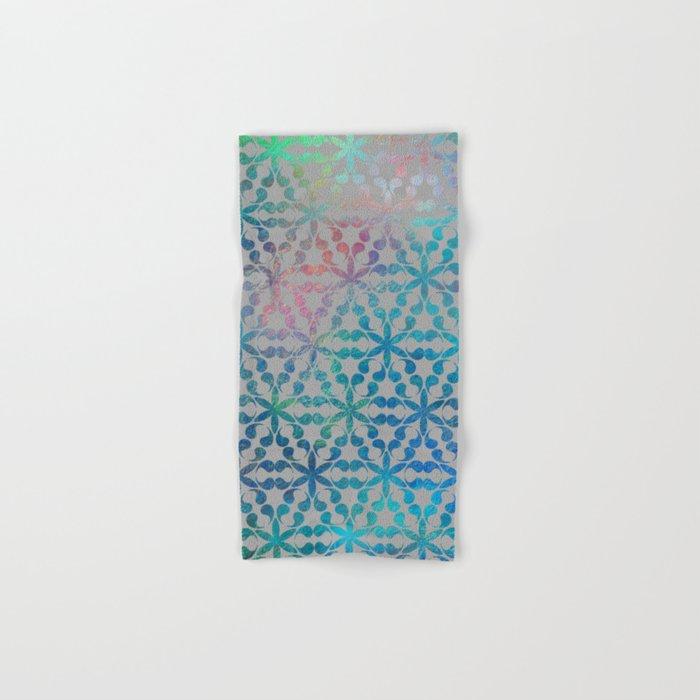 Flower of Life Variation - pattern 3 Hand & Bath Towel