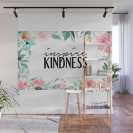 Inspire Kindness Wall Mural
