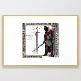Swedish Viking Framed Art Print