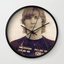Cobain Mug Shot Wall Clock