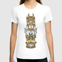 totem T-shirts featuring totem by ybalasiano